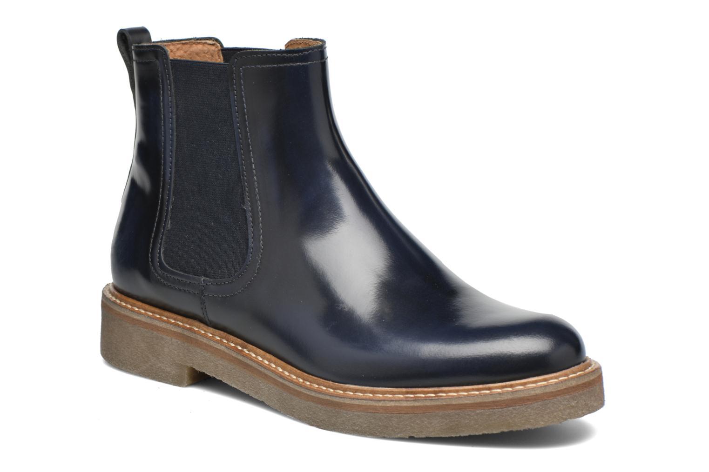 Ankelstøvler Kickers Oxfordchic Blå detaljeret billede af skoene