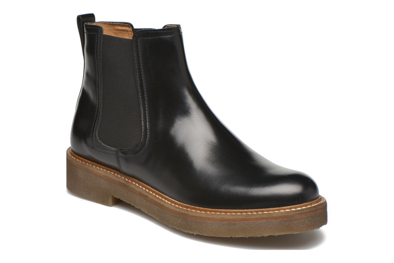 Ankelstøvler Kickers Oxfordchic Sort detaljeret billede af skoene