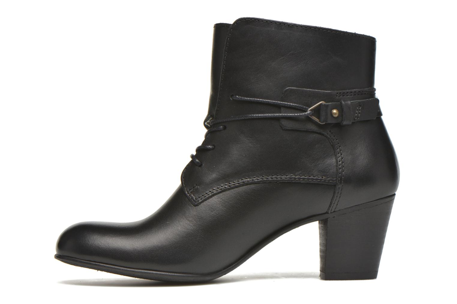 Bottines et boots Kickers Seelace Noir vue face