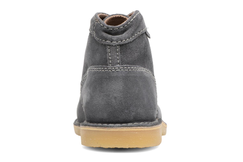 Chaussures à lacets Kickers Orilegend F Gris vue droite