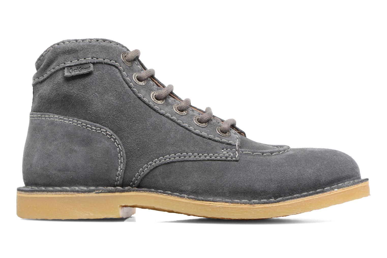 Chaussures à lacets Kickers Orilegend F Gris vue derrière