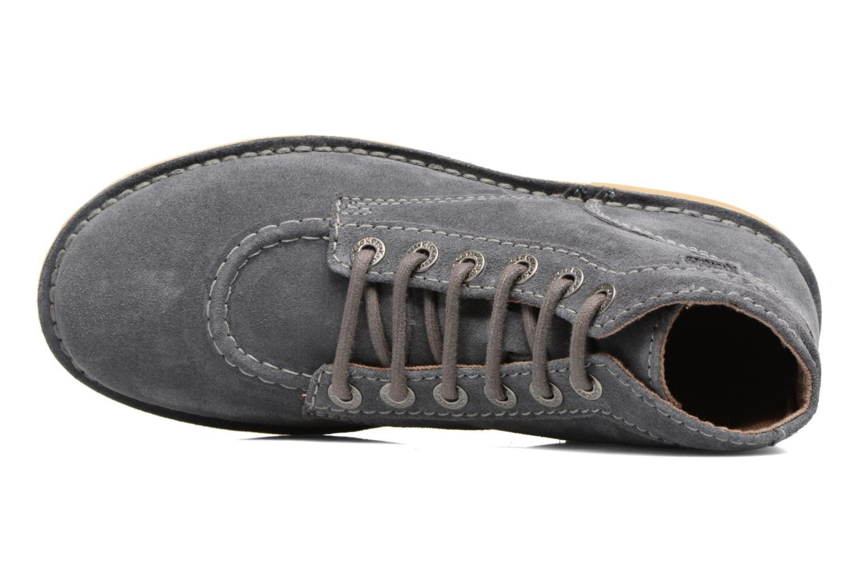 Chaussures à lacets Kickers Orilegend F Gris vue gauche