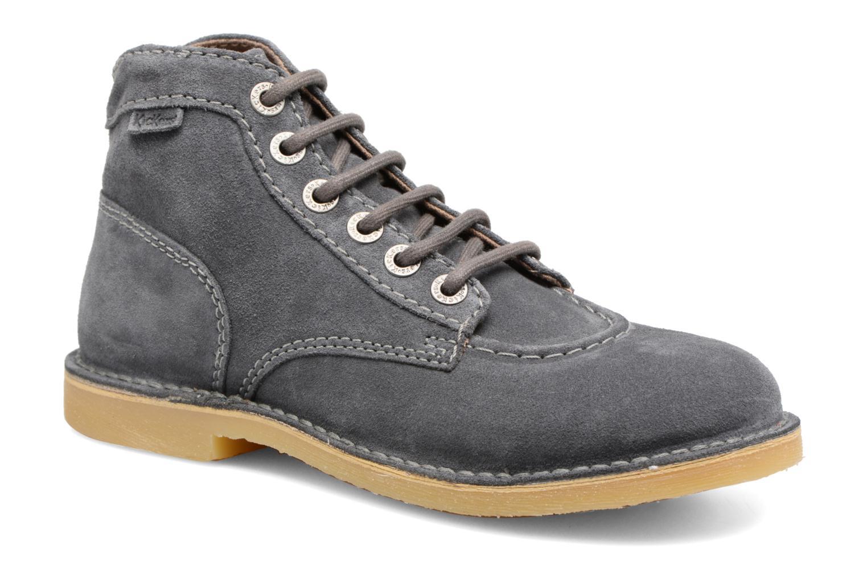 Chaussures à lacets Kickers Orilegend F Gris vue détail/paire