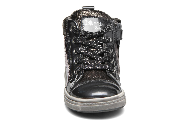 Baskets Acebo's Sequina Gris vue portées chaussures