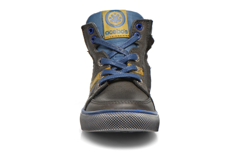 Baskets Acebo's Paulo Gris vue portées chaussures