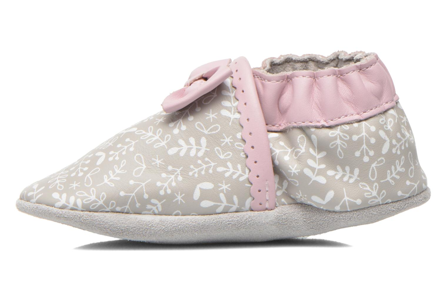Chaussons Robeez Tenderness Gris vue face