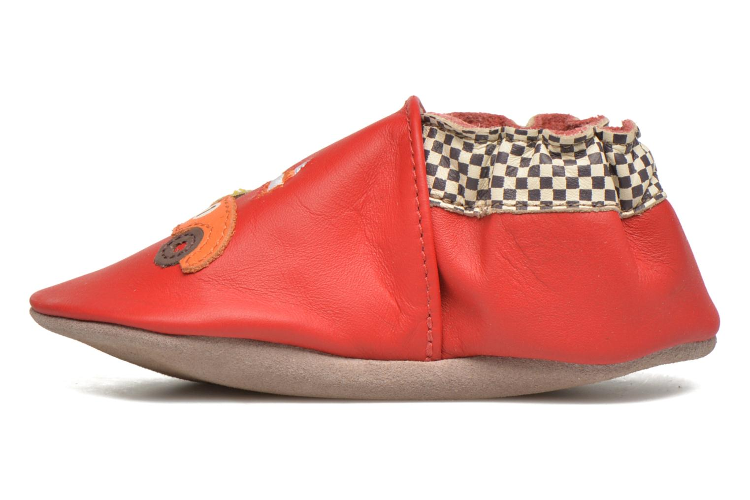 Slippers Robeez Speed Red front view