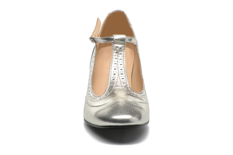 Escarpins Georgia Rose Soho Argent vue portées chaussures
