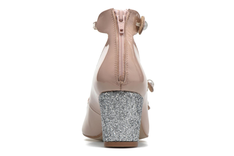 Spell Vernis rosa + glitter silver