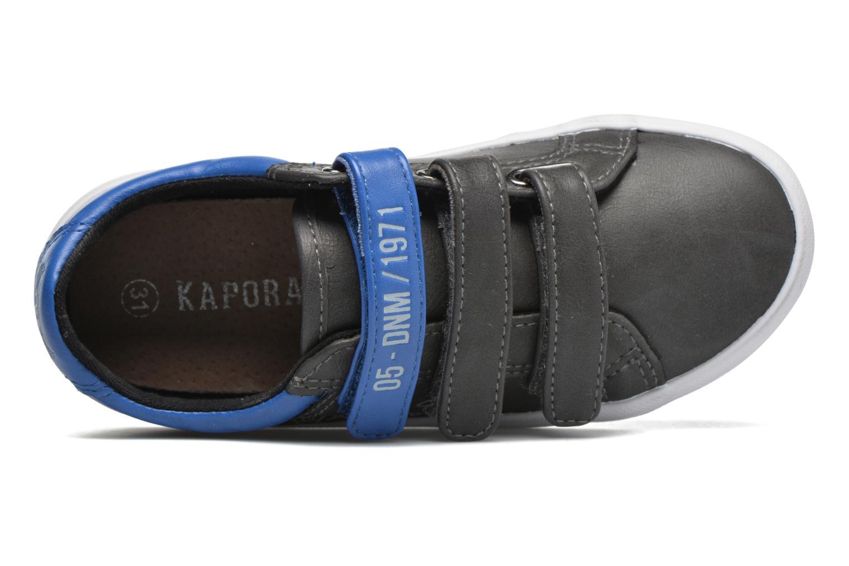 Baskets Kaporal True Gris vue gauche
