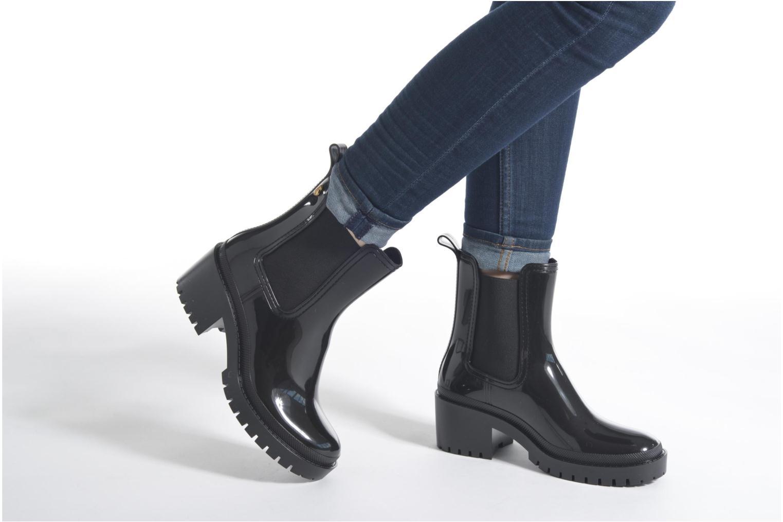 Bottines et boots Lemon Jelly Aiko Noir vue bas / vue portée sac