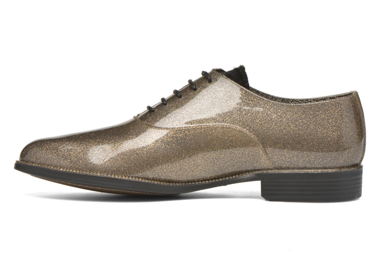 Chaussures à lacets Lemon Jelly Sparkle Or et bronze vue face