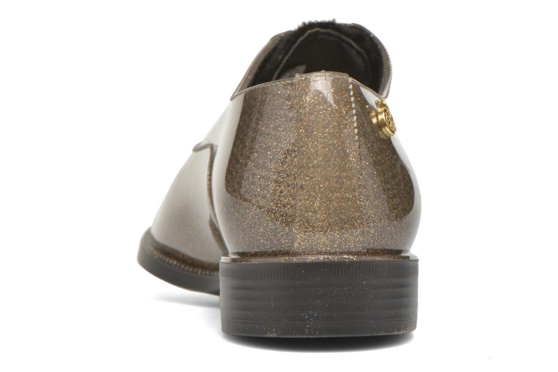 Chaussures à lacets Lemon Jelly Sparkle Or et bronze vue droite