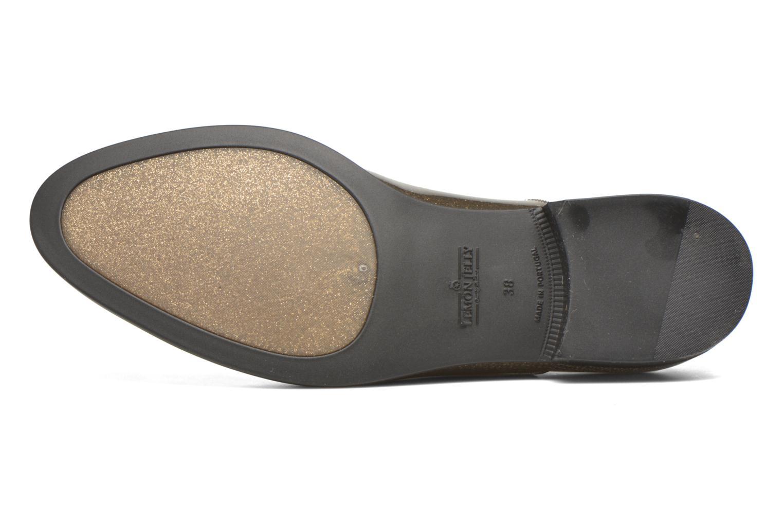 Chaussures à lacets Lemon Jelly Sparkle Or et bronze vue haut