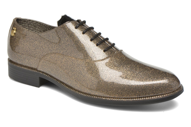 Chaussures à lacets Lemon Jelly Sparkle Or et bronze vue détail/paire
