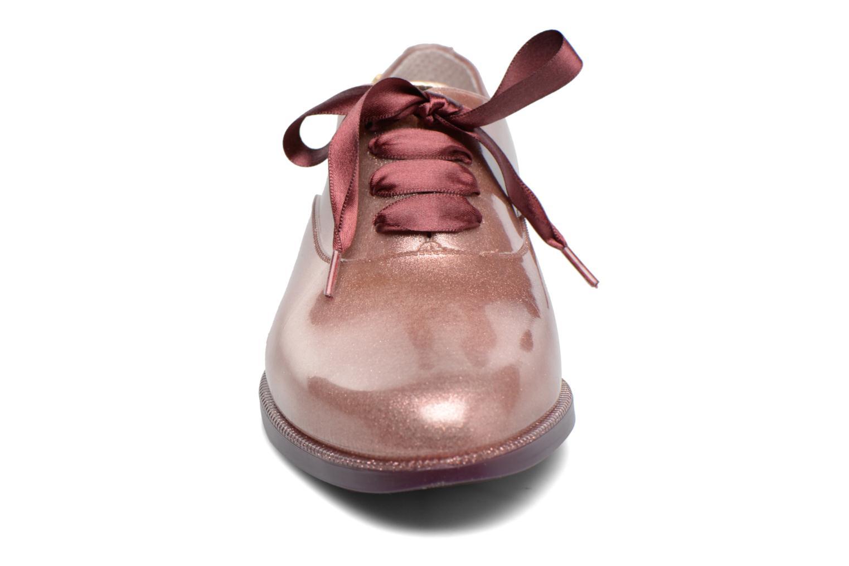 Scarpe con lacci Lemon Jelly Sparkle Rosa modello indossato