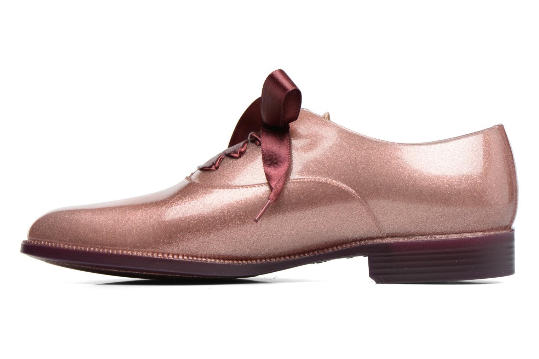 Chaussures à lacets Lemon Jelly Sparkle Rose vue face