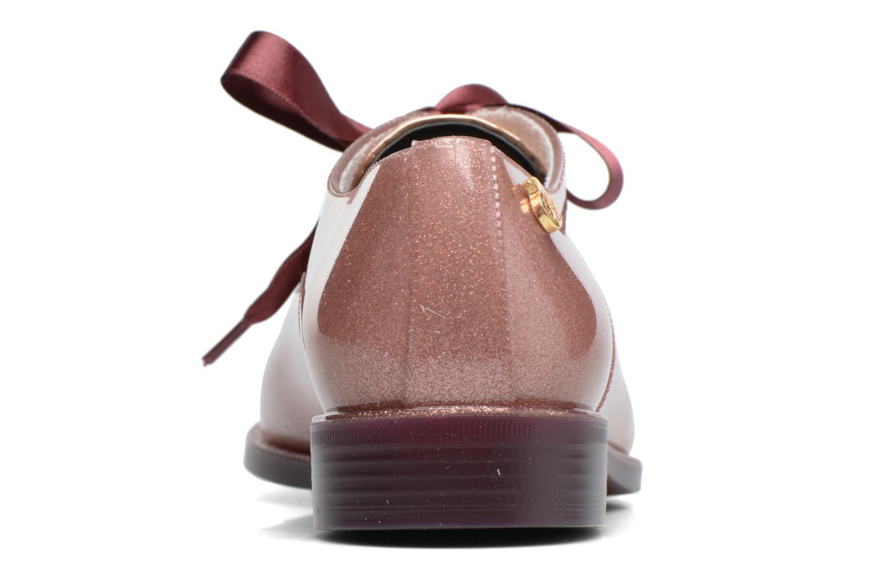 Chaussures à lacets Lemon Jelly Sparkle Rose vue droite