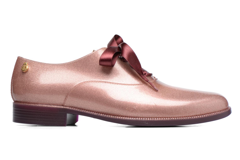 Chaussures à lacets Lemon Jelly Sparkle Rose vue derrière