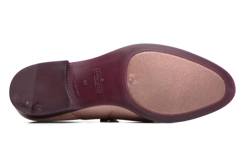 Chaussures à lacets Lemon Jelly Sparkle Rose vue haut
