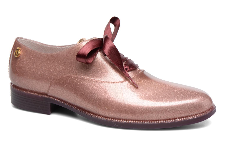 Chaussures à lacets Lemon Jelly Sparkle Rose vue détail/paire
