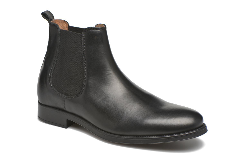 Bottines et boots Selected Homme Oliver Noir vue détail/paire