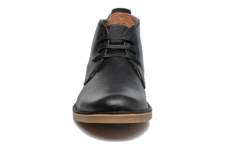 Chaussures à lacets Selected Homme New Royce Noir vue portées chaussures
