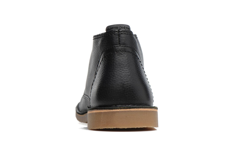 Chaussures à lacets Selected Homme New Royce Noir vue droite