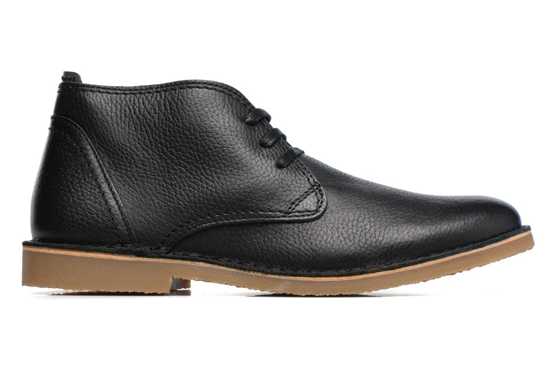 Chaussures à lacets Selected Homme New Royce Noir vue derrière