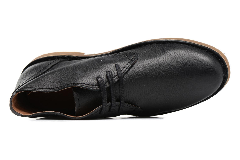 Chaussures à lacets Selected Homme New Royce Noir vue gauche