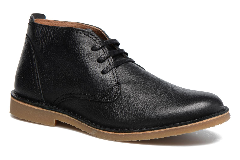 Chaussures à lacets Selected Homme New Royce Noir vue détail/paire
