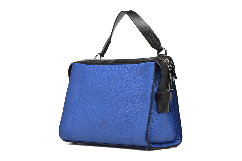 Bolsos de mano Michael Michael Kors INGRID MD Shoulder Azul vista del modelo