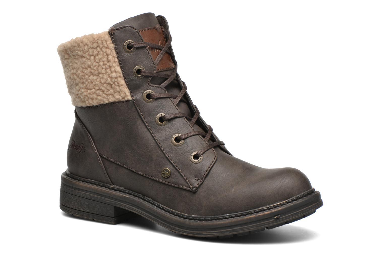Bottines et boots Blowfish Fader Marron vue détail/paire