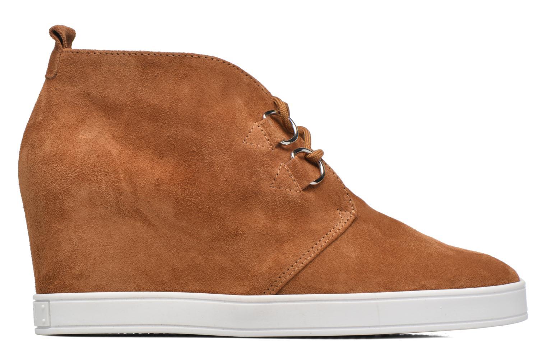 Chaussures à lacets HÖGL Christel Marron vue derrière