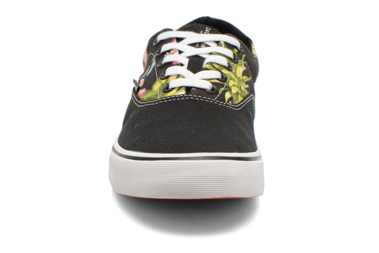 Baskets Jack & Jones JJ Surf Canvas Print Low Noir vue portées chaussures