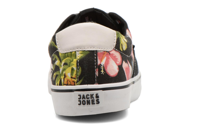 Baskets Jack & Jones JJ Surf Canvas Print Low Noir vue droite