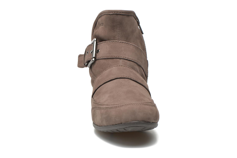 Bottines et boots Geox D NEW MOENA D D3460D Marron vue portées chaussures