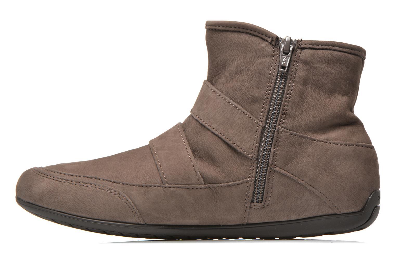 Bottines et boots Geox D NEW MOENA D D3460D Marron vue face