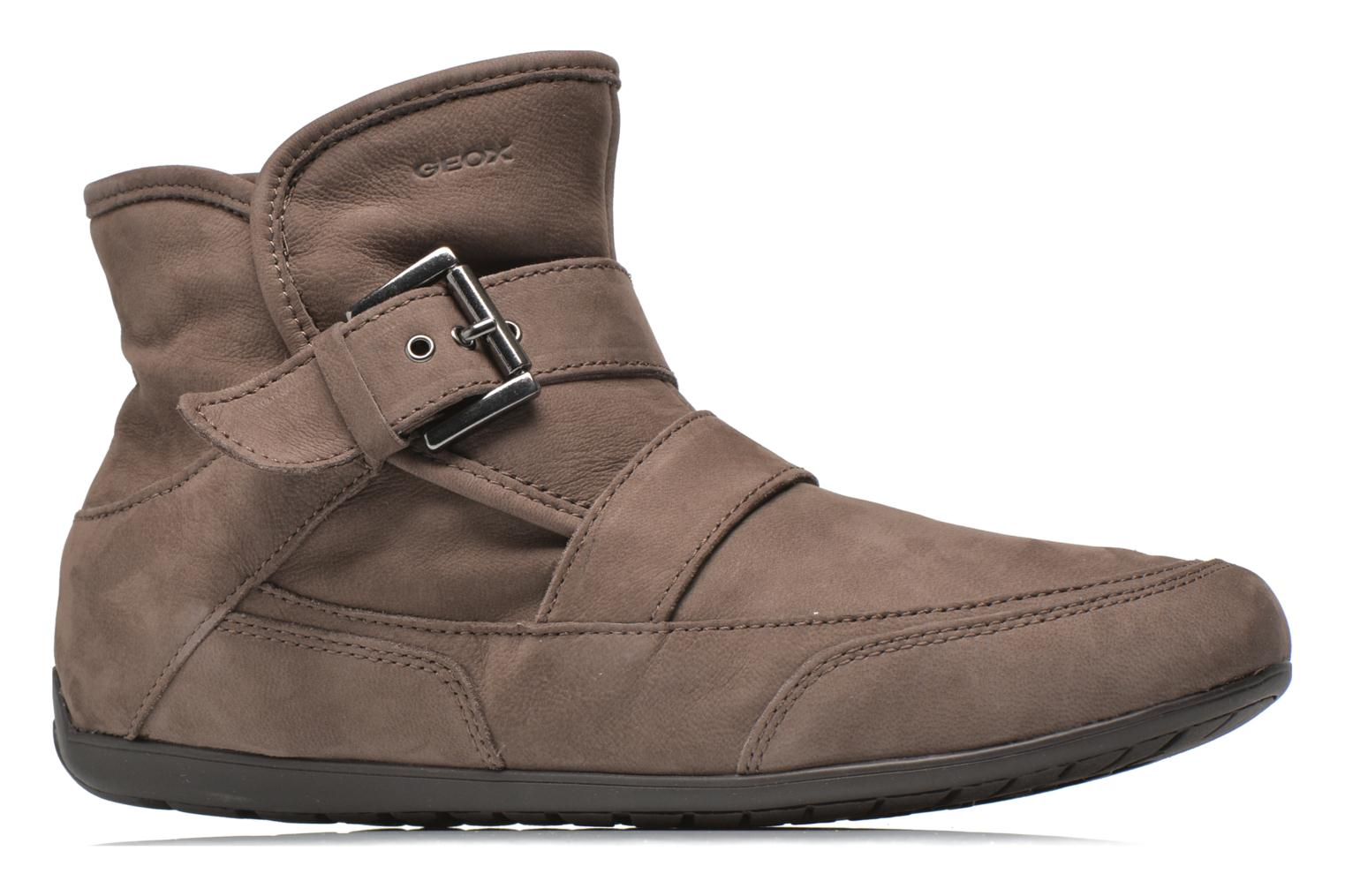 Ankle boots Geox D NEW MOENA D D3460D Brown back view