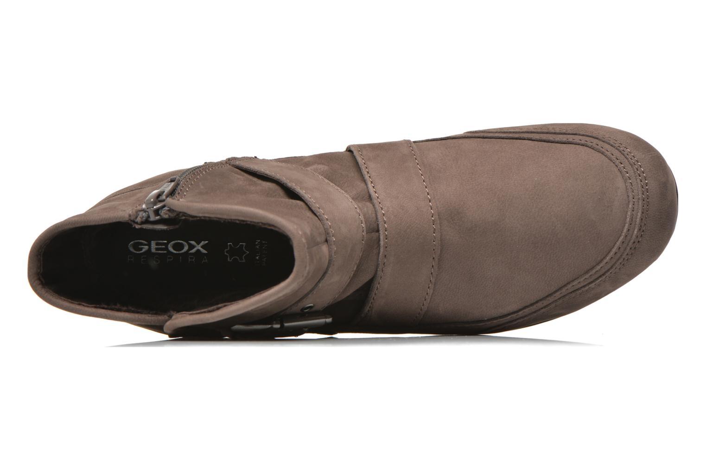Bottines et boots Geox D NEW MOENA D D3460D Marron vue gauche