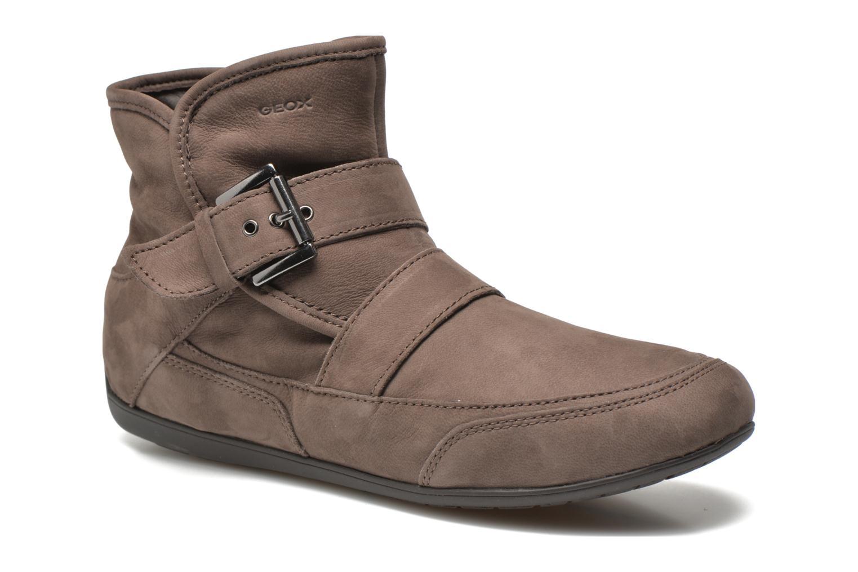 Bottines et boots Geox D NEW MOENA D D3460D Marron vue détail/paire