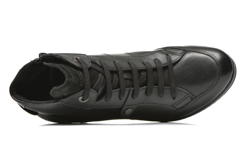 Sneakers Geox D ILLUSION A D4454A Zwart links
