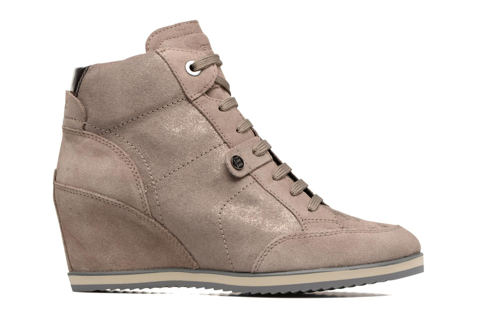 Sneakers Geox D ILLUSION A D4454A Bruin achterkant