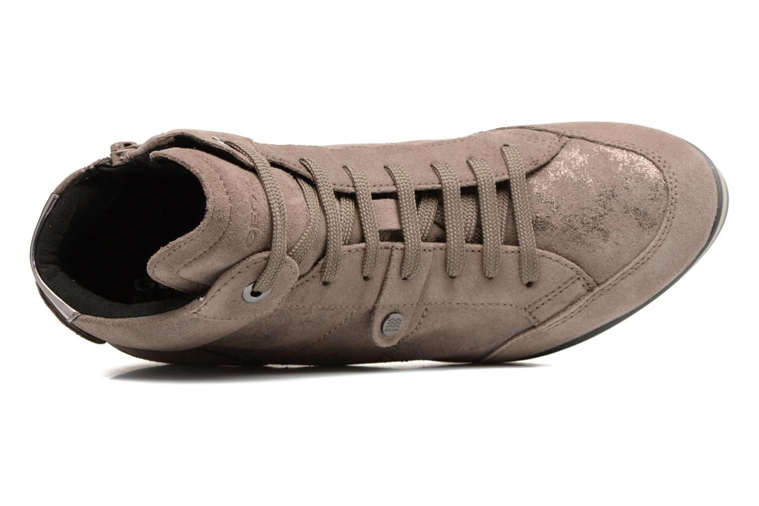 Sneakers Geox D ILLUSION A D4454A Bruin links