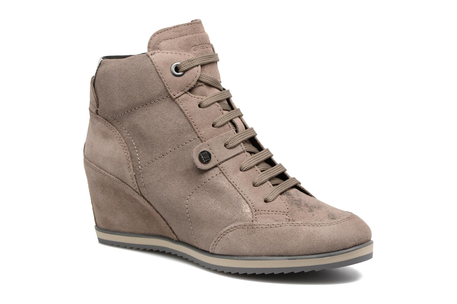 Sneakers Geox D ILLUSION A D4454A Bruin detail
