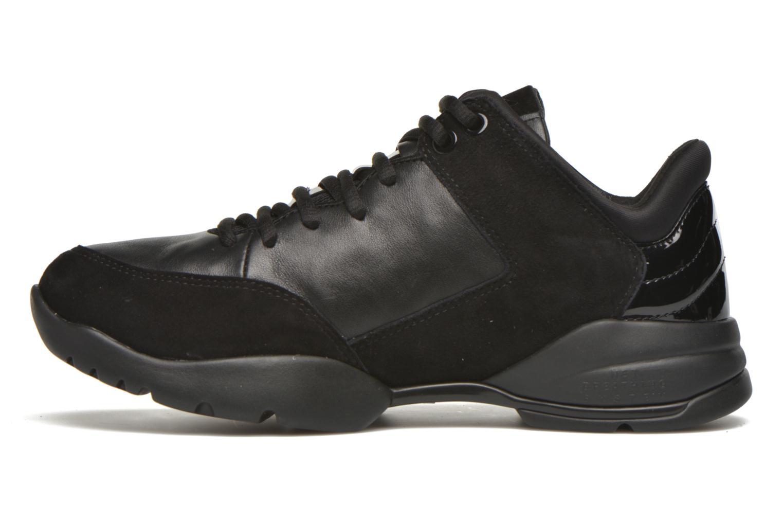 Sneaker Geox D SFINGE A D642NA schwarz ansicht von vorne