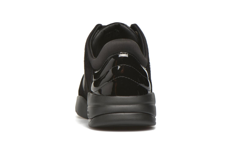 Sneaker Geox D SFINGE A D642NA schwarz ansicht von rechts