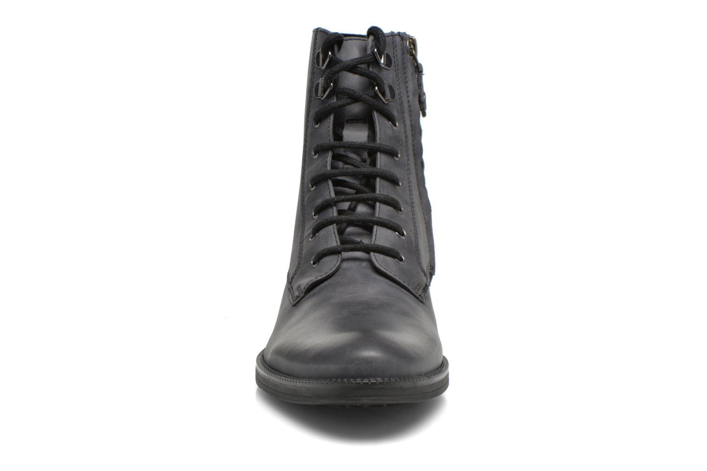 Bottines et boots Geox D MENDI ST B D6490B Gris vue portées chaussures