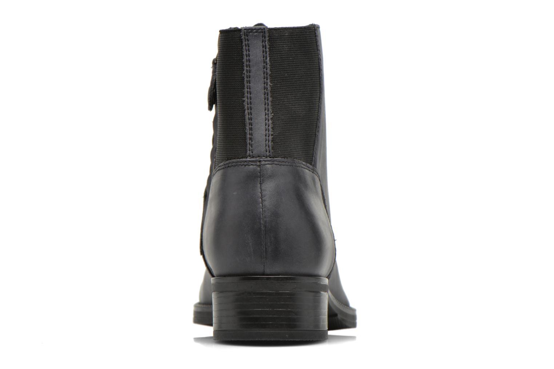 Bottines et boots Geox D MENDI ST B D6490B Gris vue droite