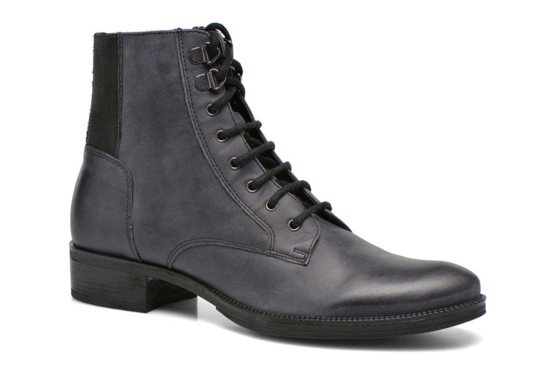 Bottines et boots Geox D MENDI ST B D6490B Gris vue détail/paire